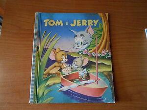 libro-TOM e JERRY dai cartoni animati della M.G.M. - ED.PRINCIPATO 1959