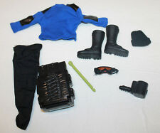 "1/6 scale blue sweater black pants uniform military   for 12"" inch figure 1/6th"