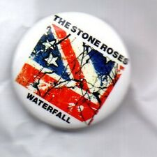 THE STONE ROSES Waterfall BUTTON BADGE - ENGLISH INDIE ROCK BAND IAN BROWN 25mm