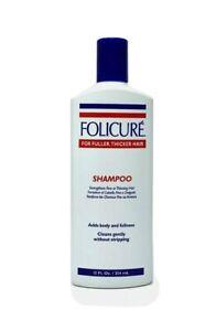 Folicure Shampoo 12 FL. Oz Bottle
