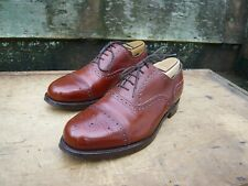 JOSEPH CHEANEY BROGUES – BROWN / TAN  - UK 7 – JAMES - EXCELLENT CONDITION