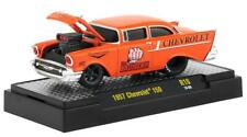 "M2 Machines Orange 1957 Chevrolet 150 ""The Bruiser"" Ground Pounders"