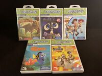 Lot of 5 - Leapfrog Leapster LeapPad Learning Games Disney, Toy Story