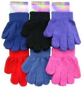 Girls Boys Kid's Magic Stretch Winter Warm Comfy Glove 3 to 6 years Xmas Gift