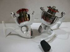 Lot of 2 Shakespeare Red & White 35 spinning reels new off combos
