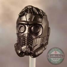 """ML211 Custom Cast Peter Quill Starlord GotG head sculpt use w/6"""" Marvel Legends"""
