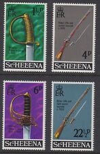 ST HELENA 1971 Military Equipment 2nd issue MINT set sg281-284 MNH