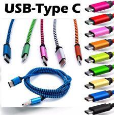 USB-C Typ-C 3.1 Schnellladekabel Daten Sync Ladegerät Ladekabel Nylongeflecht