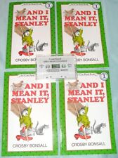 """BRAND NEW LAKESHORE 4 BOOK & AUDIO SET  """"AND I MEAN IT, STANLEY"""" ~FREE SHIPPING~"""