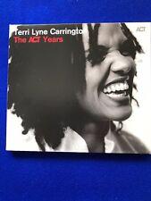NEW Terri Lyne Carrinton The ACT Years Jazz ACT CD Promo Copy 2015
