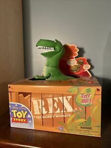 RARE Toy Story Collection Rex Thinkway Toys