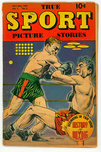 JERRY WEIST ESTATE: TRUE SPORT PICTURE STORIES v.2 #12 & v.5 #2 (Street & Smith)