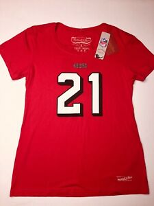 Deion Sanders Mitchell And Ness Women's Size XL Shirt San Fransisco 49ers