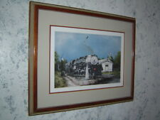 "Constance Legler Smith signed limited edition Hershey, Pa ""U.P"" steam locomotive"