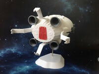 Space 1999 - Ultra Probe Command Capsule Model Kit - Articulated Docking Arms