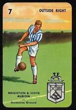 RARE Football Playing Card - Brighton & Hove Alb 1964-5