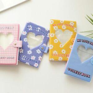 Card Holder Photocards Organizer Hollow Heart Album Binder Album Photo Album