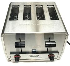 (T5) Waring WCT820 Commercial Heavy Duty Bagel Toaster 120V NSF 1 Year Warranty