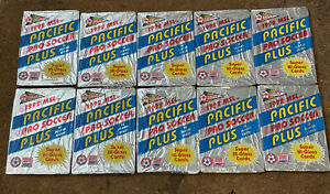 1992 Pacific Pro Football Soccer Trading Cards MSL 5 Packs