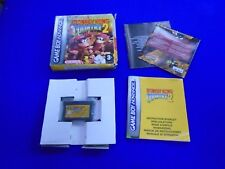 Gameboy Advance DONKEY KONG COUNTRY 2 ++ Nintendo Game boy Boxed GBA PAL