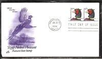 US SC # 3050 Ring-Necked Pheasant FDC. Artcraft  Cachet