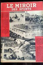 Miroir des Sports 21/09/1943; Championnat de France de Demi-Fond/ Kayak Club
