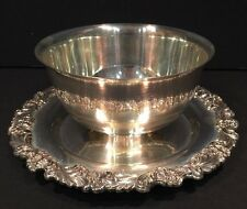 Reed & Barton Silverplate Dish Bowl # 2307 Burgundy