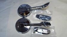 65 66 Chevy 1965-1966 Chevrolet  Impala & Caprice Outside Pair (2) Door Mirror,