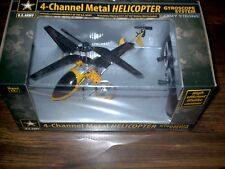ATT: Army Remote Control RC Indoor Metal Helicopter With 4 Channels & Gyroscope