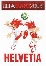 Panini Sticker Fußball Euro 2008 Nr. 46 HEL Helvetia Mascots 046 NEUWARE Bild