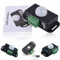 Automatic DC 12V-24V 8A LED Lamps Infrared PIR Motion Sensor Switch Practical--