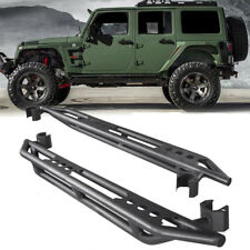 Side Step Armor Nerf Bar Running Boards For Jeep JK Wrangler 2007-2017 4 Door