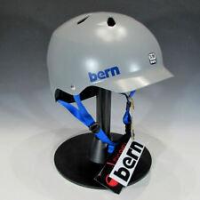 Bern Men's Watts Bike and Skate Helmet (Satin Grey, S-M)