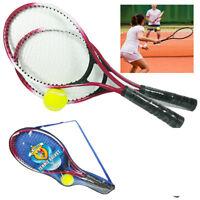 Racchette Da Tennis + Pallina Custodia Racchettoni Giocattolo Bambini Regalo 319