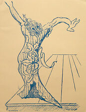 "MAX ERNST ""Elektra"" lithograph (1959 edition)"