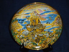 """Bill Bell NOAHS ARK 8.25"""" Franklin Mint Heirloom Collector's Plate TWO BY TWO"""