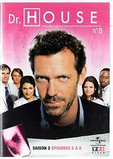 Dr HOUSE - Intégrale kiosque TF1 Video - Saison 2 - dvd 8 - Episodes 5 à 8