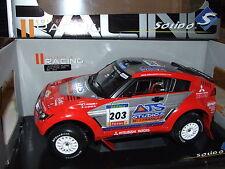 MITSUBISHI PAJERO  WINNER PARIS DAKAR 2004 1/18 SOLIDO