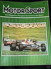 Niki Lauda McLaren mp4/6 Didier Pironi British Grand Prix Gp 1982 Marcas Escotilla