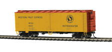 MTH 85-78033, HO Scale, 40' Steel Sided Reefer Car - Western Fruit Express 68310