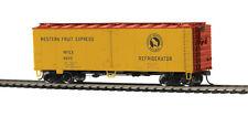 MTH 85-78033, HO Scale, 40' Steel Sided Reefer Car - Western Fruit Express 68310
