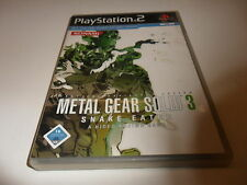 PlayStation 2  Metal Gear Solid 3: Snake Eater
