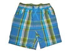NEU Liegelind tolle kurze Hose / Shorts Gr. 74 blau-grün kariert !!