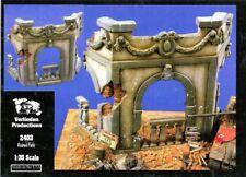 Verlinden 1:35 Ruined Patio Resin & Ceramic Diorama Accessory #2403