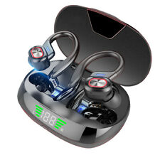 New listing Bluetooth Headset 5.0 True Wireless Earphones Earbuds Headphones HiFi Sport