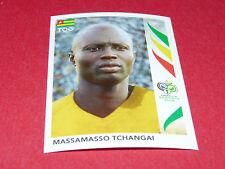 520 MASSAMASSO TCHANGAI TOGO PANINI FOOTBALL GERMANY 2006 WM FIFA WORLD