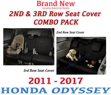 Genuine OEM Honda Odyssey 2nd & 3rd Row Seat Cover *COMBO PACK*  2011 - 2017