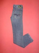 """Diesel YBO 008LA Zip-fly-Femme Bleu Denim Jeans-Taille 26"""" Jambe 34"""" - K 158 *"""