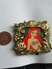 Disney Jumbo Pin Badge Ariel Stained Glass Limited Edition Princess