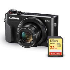 Canon PowerShot G7 X Mark II Digital Camera 1066C001 + Sandisk Extreme 32GB SD